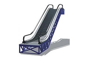 角钢扶梯桁架(标准,超高)